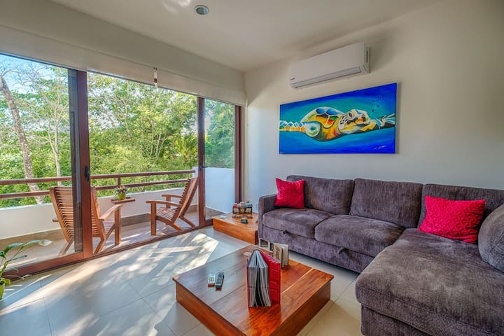 ⭐️ Ocean Breeze Akumal, 1 bedroom apartment ⭐️