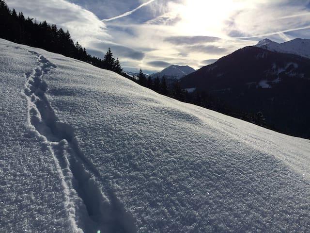 Urige Almhütte (Aste) in Tirol mitten am Berg - Weerberg - กระท่อมบนภูเขา