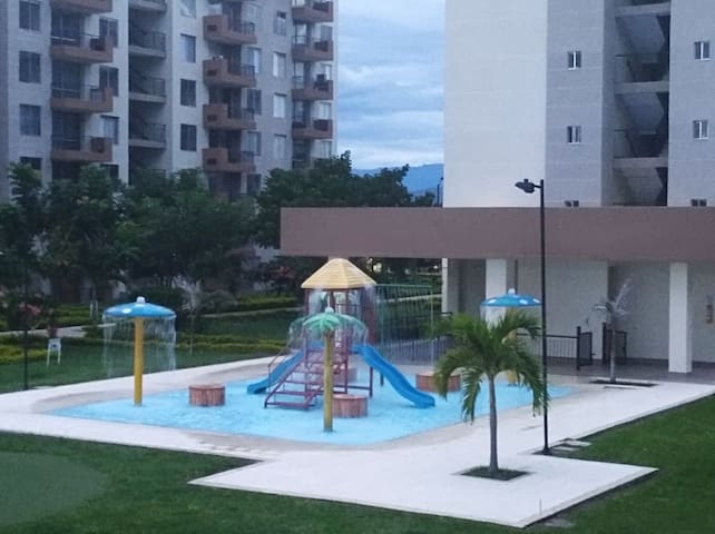 Apartment two hours from Bogotá. Always summer