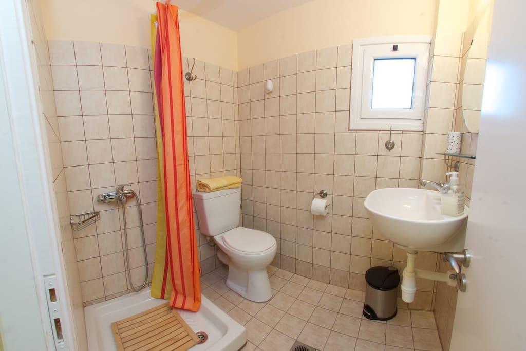 Teresa apartment bathroom