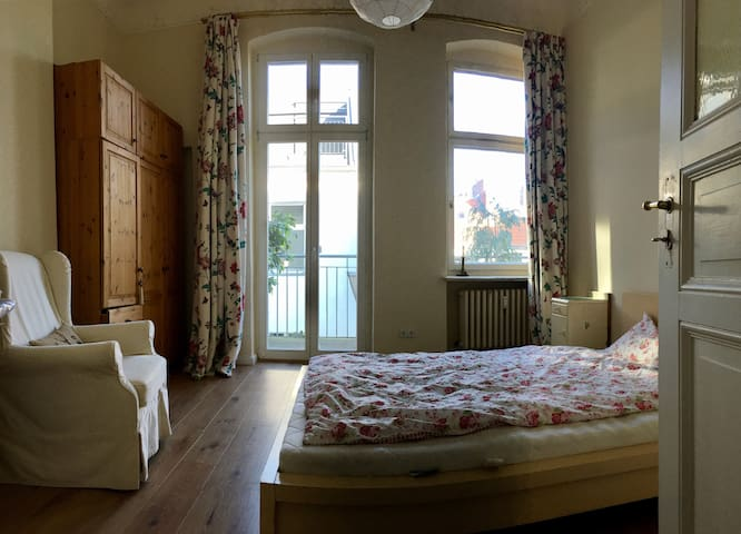 Double room with balcony in city centre