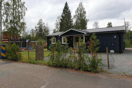 Bosrijke rustige Gustavsfors.