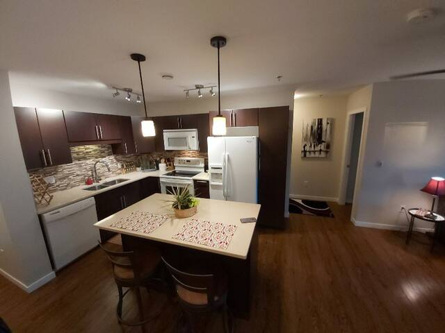 Full Kitchen Facility with Gourmet Kitchen and appliances