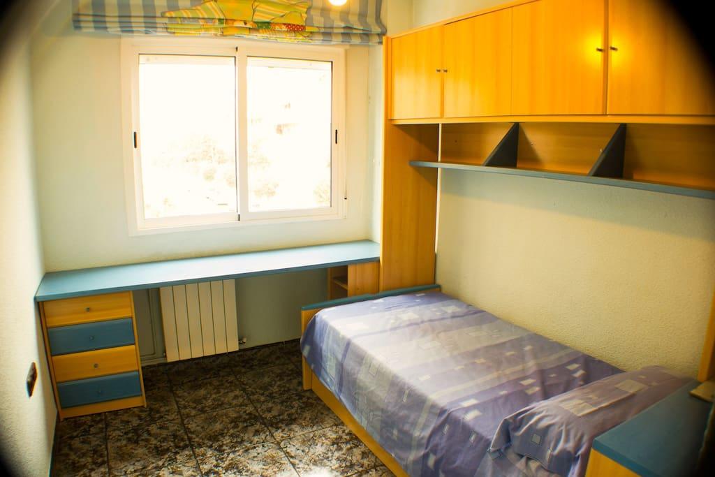 Dormitorio 3. Cama nido