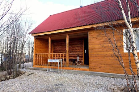 Северный дом с настоящей баней