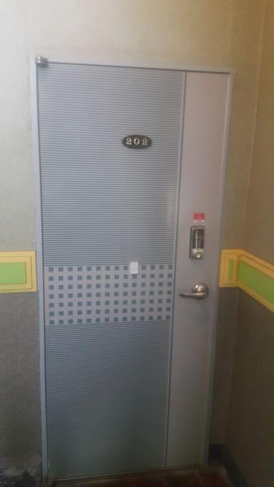 Front door #202/ 현관문-202호