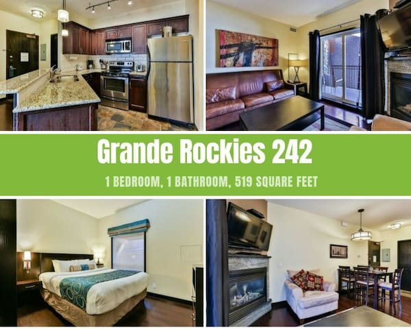 Rockies Rentals: Grande Rockies Resort 1 Bedroom