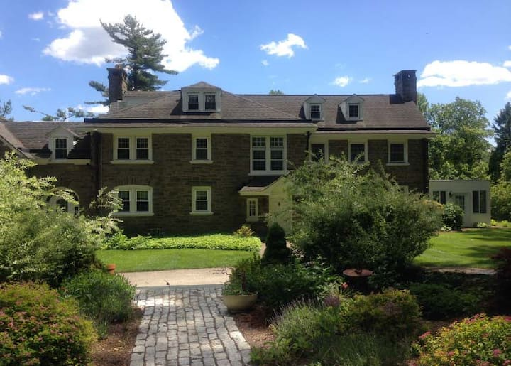 Gulph Mills Georgian Stone Manor