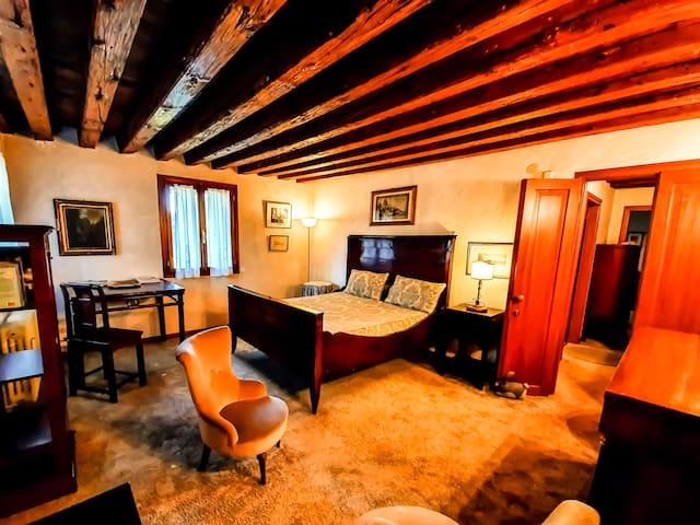 Villa Foscolo - Suite con due camere e vista lago