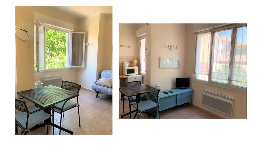Studio (3e) Toulon Mourillon Plage 300m