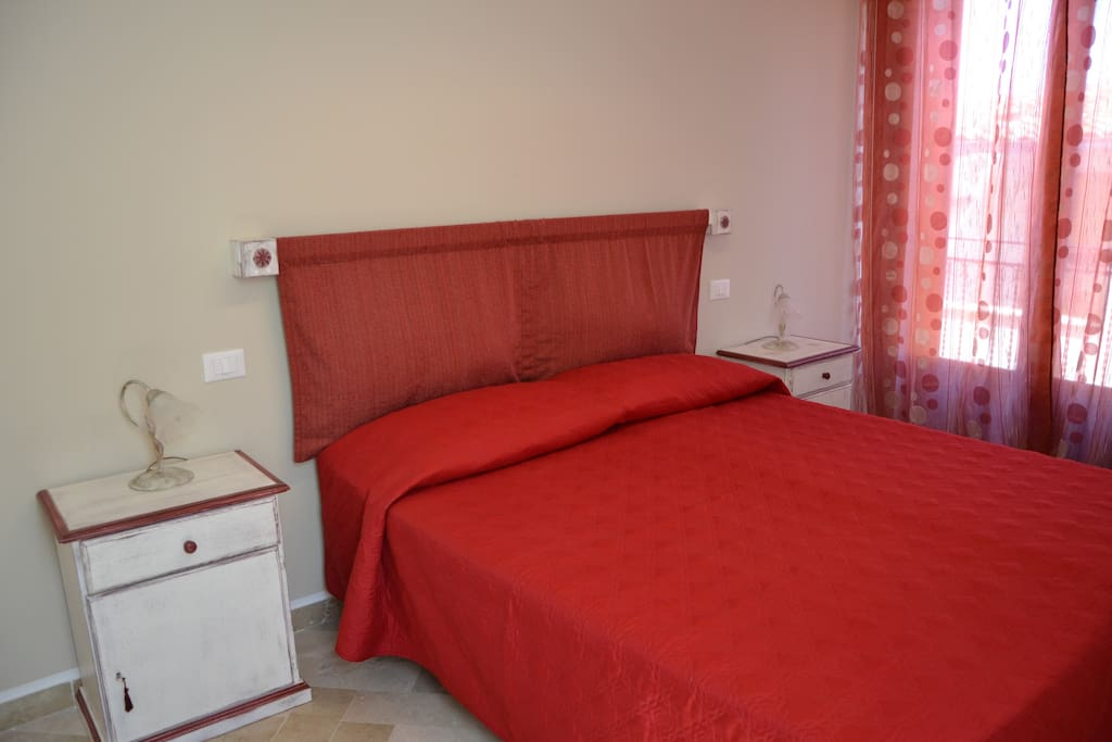 Camera da letto matrimoniale - doppia con due letti singoli