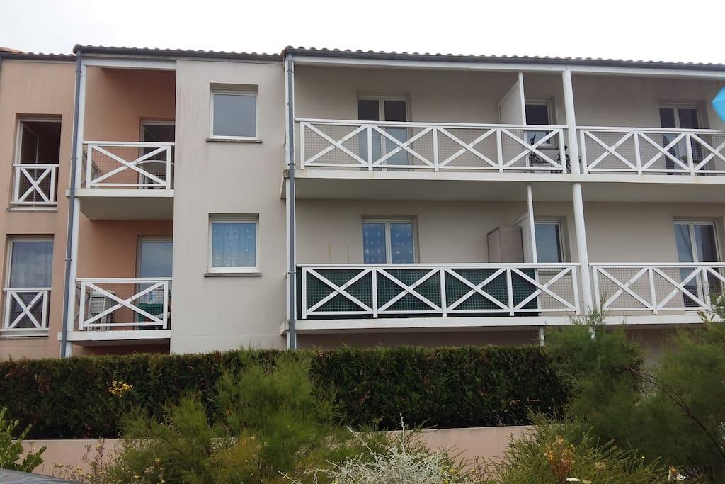 Balcon du 1 er étage