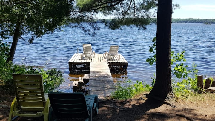 Cozy Lakefront Cottage | Ahmic Lake - Magnetawan