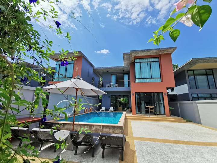Aonang3bedroom private pool villa1 deluxe