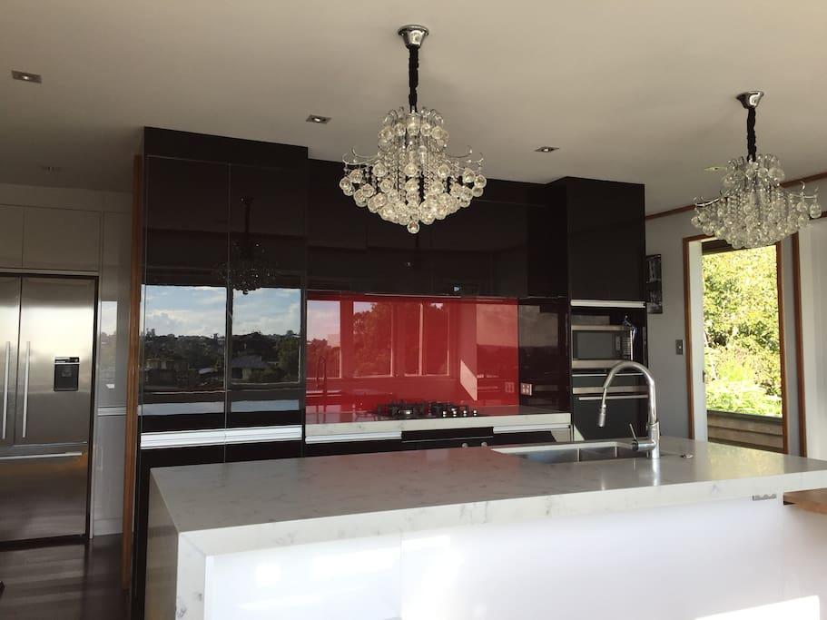 New glamorous kitchen