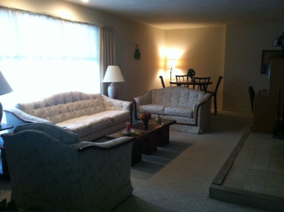 Second living room giving you extra space to spread out.