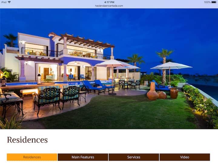 Hacienda Encantada 3 bedroom luxury private villa