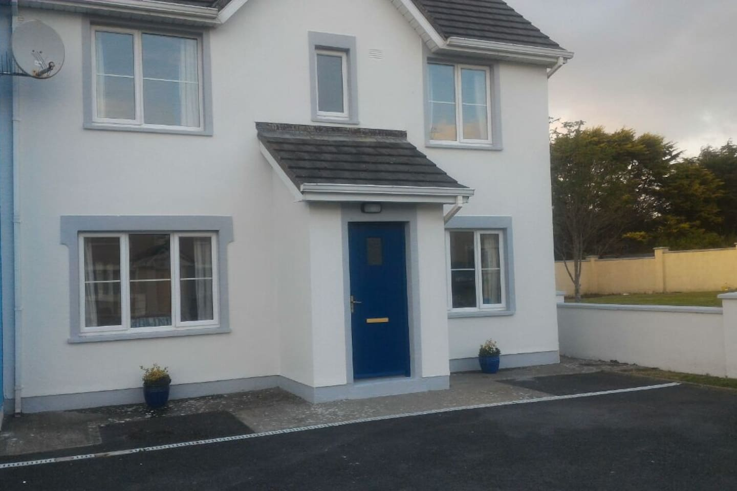Front of House. 2 Storey semi detached.