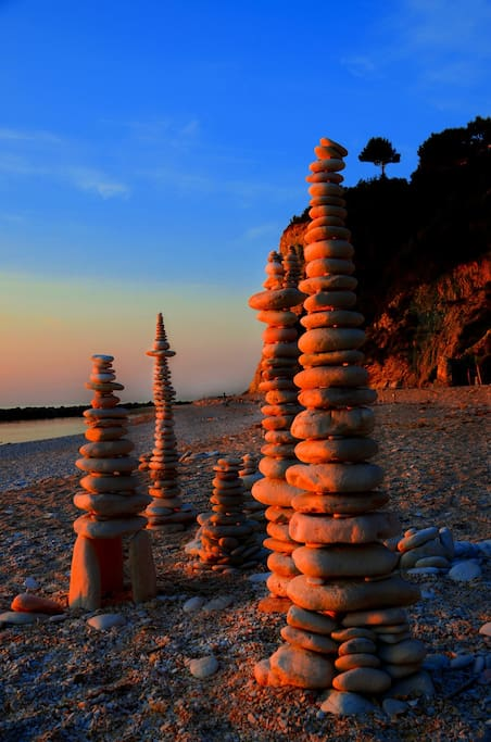 Sirolo beach