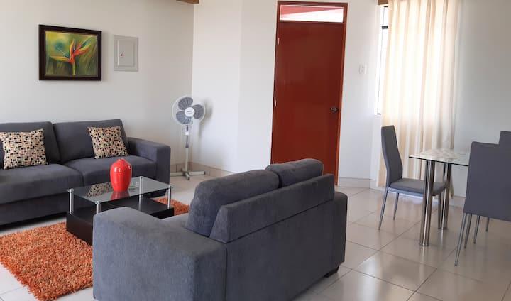 "PISCO Cozy Quiet Apartament 15"" away from Paracas"