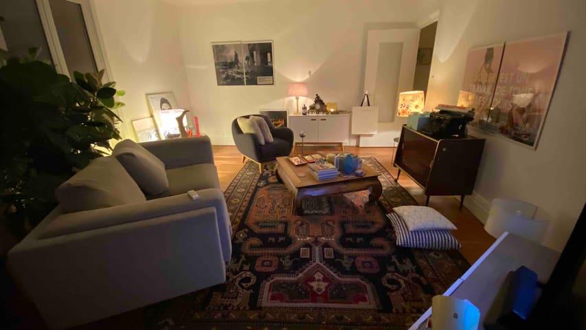 Chambre dans grand app de 90m2 vue dégagée