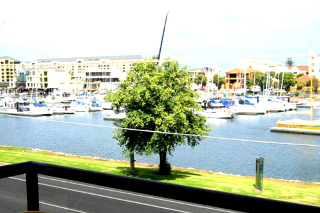 marina view from private balcony