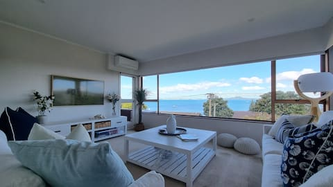 ★ Family Friendly Browns Bay Home with Sea Views ★