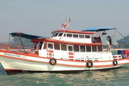 Deep Sea Fishing Charter - Thailand - Bang Sa-re - Boot