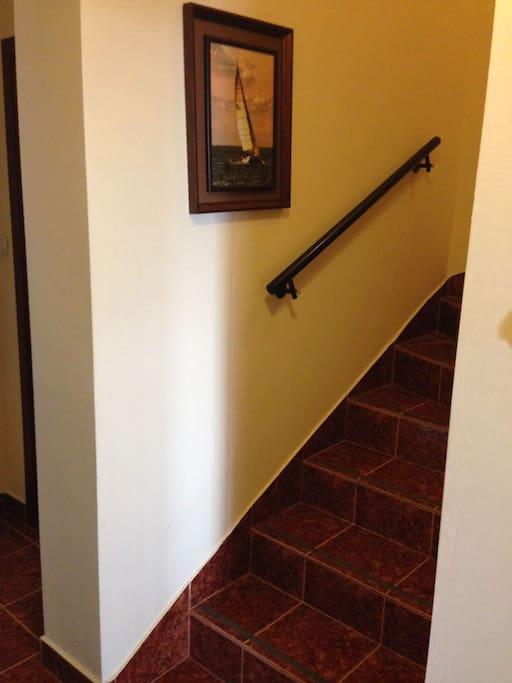 Отдельная спальня на втором этаже