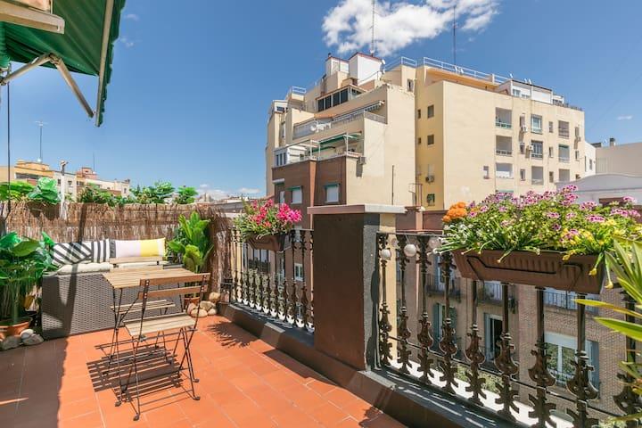 Apartamento con terraza privada -  Atico & Terraza