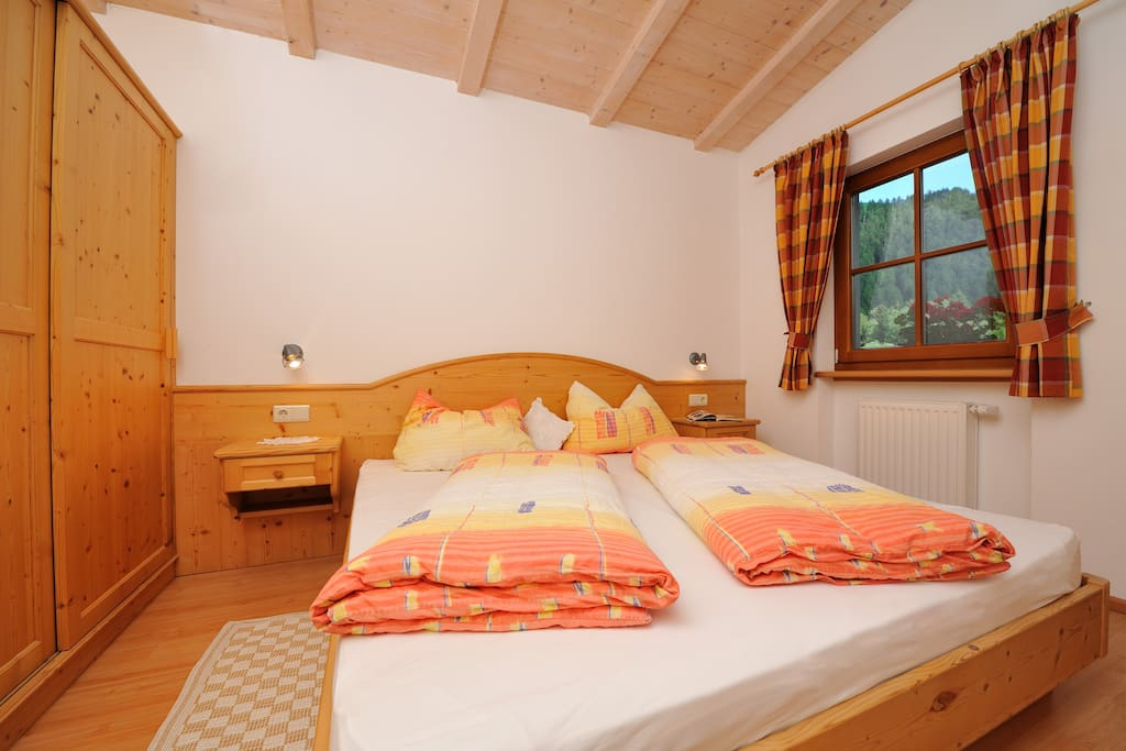 Zimmer 1 in Fichtenholz