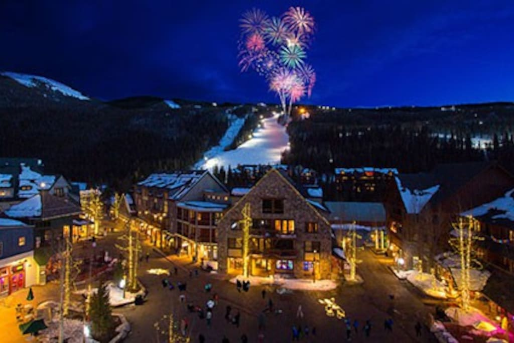 Fireworks on the Mountain
