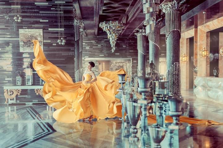 Or a princess like Belle! :)(Geri, 8/18)