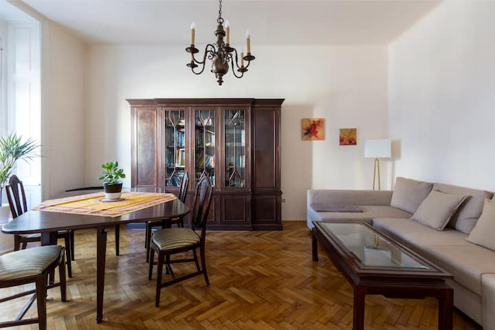 ★Spacious apartment (70m2)★15 min from city center