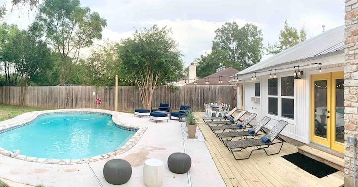 Relaxing Creekside Luxury Retreat w/ Private Pool