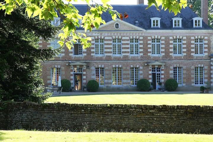 Château de la Giraudière, Chambre  Rose du Parc