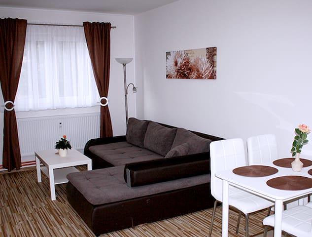 Plně vybavené a moderně zařízené Apartmány Monika