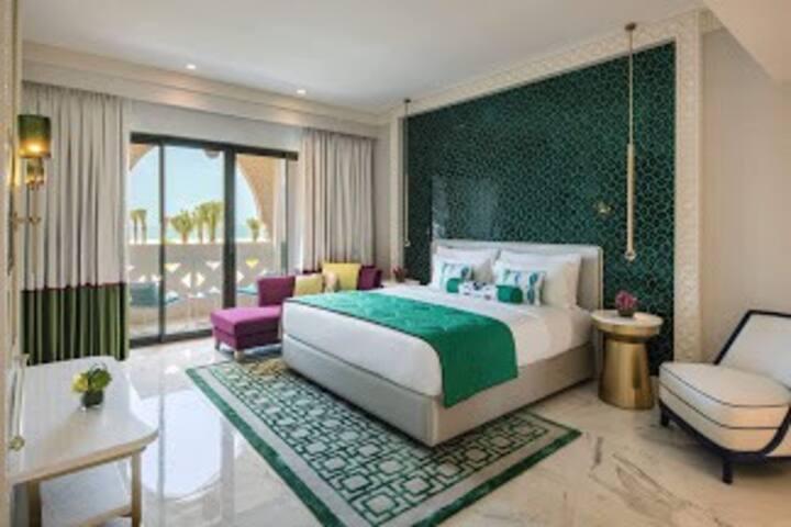 Saadiyat island, beach hotel room, deluxe room