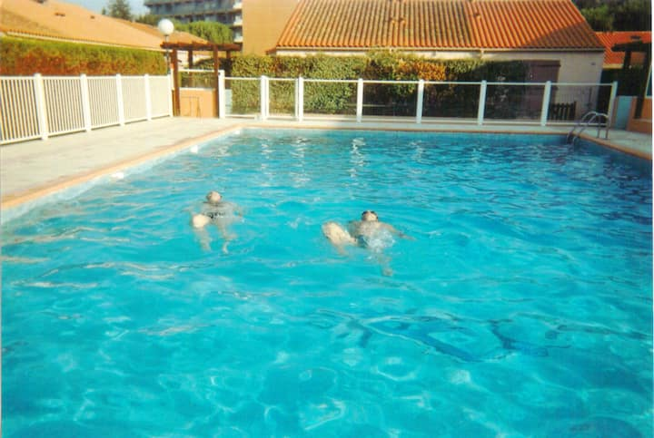 House with 2 bedrooms in Argelès-sur-Mer, with shared pool and terrace - 400 m from the beach