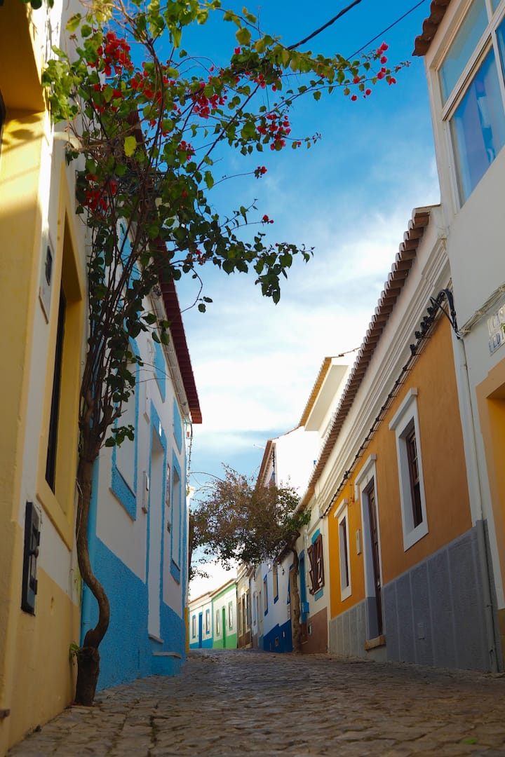 Walk through our colorful streets
