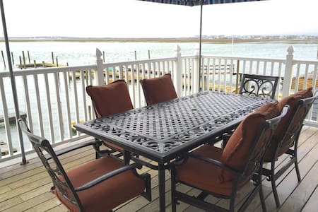 Waterfront with Spectacular Sunsets - North Wildwood