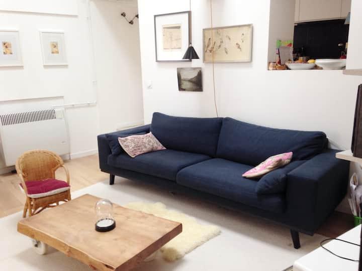 Appartement calme et lumineux en bord de Saône