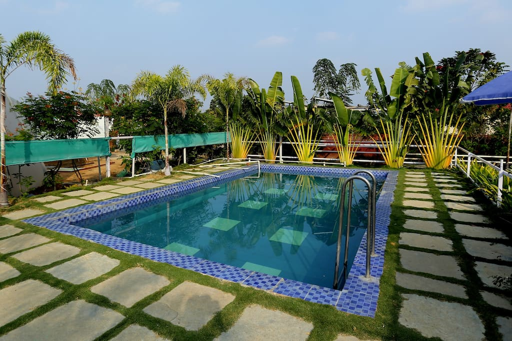 Farm House Stay Swimming Pool Near Hyderabad Houses For Rent In Telangana Telangana India