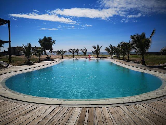 Hermoso departamento en Playa privada de Zorritos