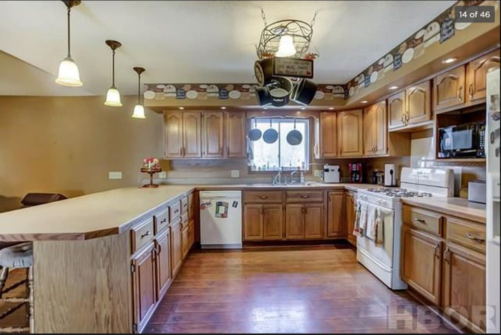 Very spacious kitchen