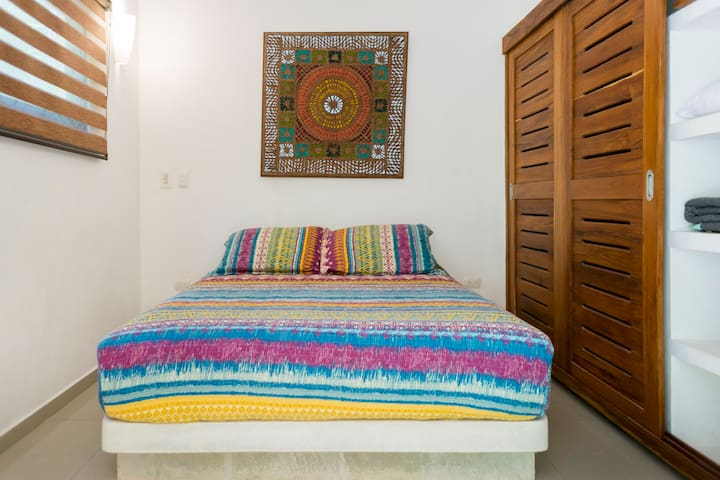 """""""This place was a wonderful find in Tulum Pueblo! It's a cute little hideaway but very close to bars and other shops.  I would definitely recommend this place to anyone looking to stay in a central location in Tulum!"""" - Steven, 5 Stars"""