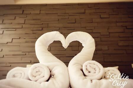幸福和室二人居~明亮舒適空間~立即預訂啾~愛上淡水之旅 - 淡水區