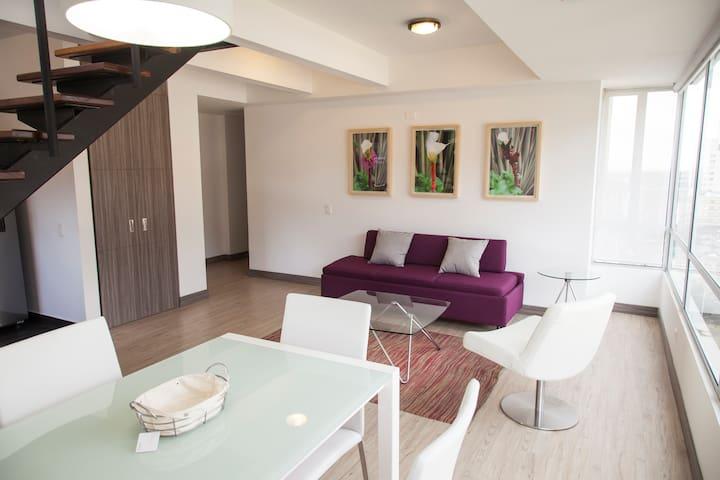 New duplex apartment, great view! - Bogotá - Huoneisto