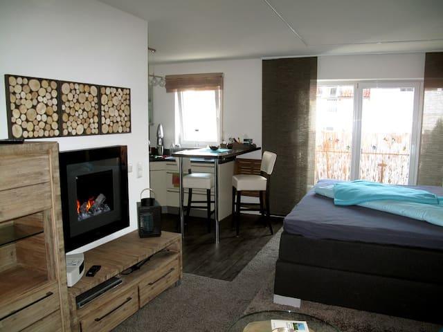kleine Luxusbase zwischen City und Badesee - Gilching - Apartament