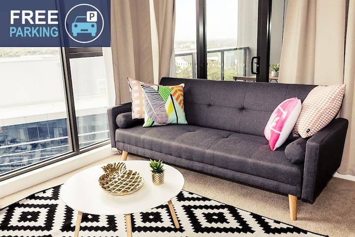 City View Luxury Apt Close to Chatswood Macquarie